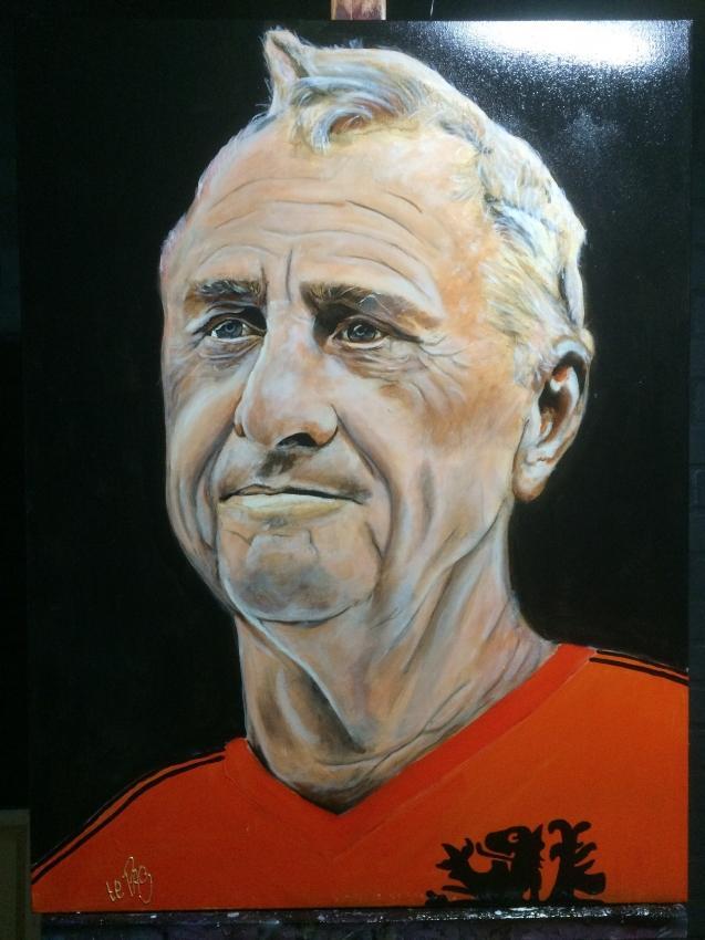 Johan Cruyff by Pasquinel